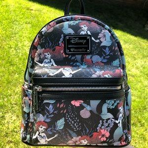 Loungefly Little Mermaid Mini Backpack